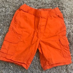 Orange Cargo Shorts Children's Place Adjustable